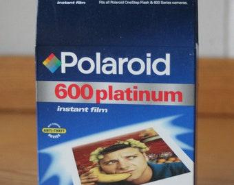 New Polaroid Platinum 600 Film Pack Cartridge Sealed  Fast & Free Shipping
