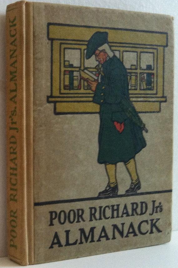 Poor Richard Jr.'s Almanack: Reprinted from the Saturday Evening Post of Philadelphia