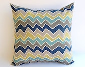 """Throw pillow cover One 20"""" x 20"""" cushion cover decorative pillow cover See Saw Felix"""