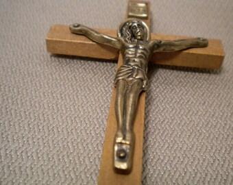 Wooden Cross Crucifix