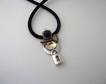 Holder Of The Key Steam Punk Necklace