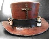 Victorian style Vampire Hunters Top Hat