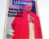 US News and World Report, The Pope Cracks Down, November 7, 1986