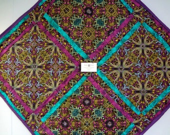 kaliedascope Wall Hanging/ Lap Quilt