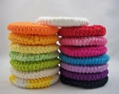 20% Off Set of 10 Facial Pads - Choose Your Own Colors