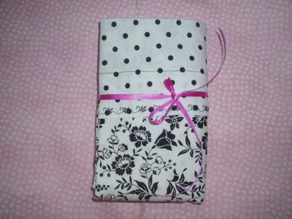 Receiving Blanket 36 X 36.  Plus 2 Burp Cloths are made with White and Black fabric.
