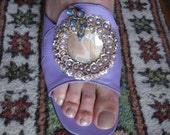 Jeweled sandals from Hawaii