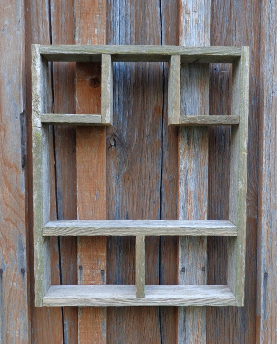 Rustic Reclaimed Cedar Shadow Box