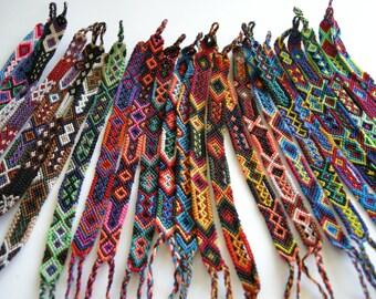 Wholesale Lot of Small Friendship Bracelets (30 bracelets)