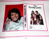 Rare 1971 Partridge Family David Cassidy Poster Book Cover Minty