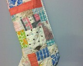Old Quilt Stocking (H)