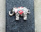 Black Elephant Glitter iPhone 4 4s Hard Cover Case