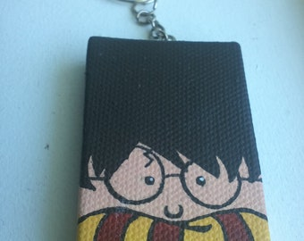 Painted Harry Potter Mini Tangle Keychain