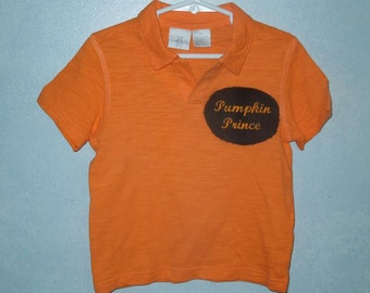 Embroidered Halloween shirt  for boy