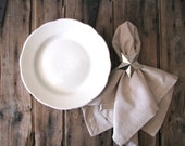 restaurantware white lunch plates - farmhouse chic table settings