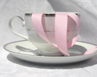 "Pink Grosgrain Ribbon 5/8"" wide  - 3 yards"