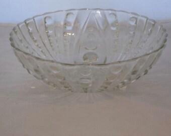 Vintage Cut Glass Bowl