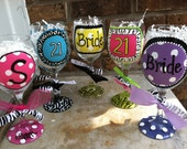 Personalized Glasses - Birthday, Bridal, Initial
