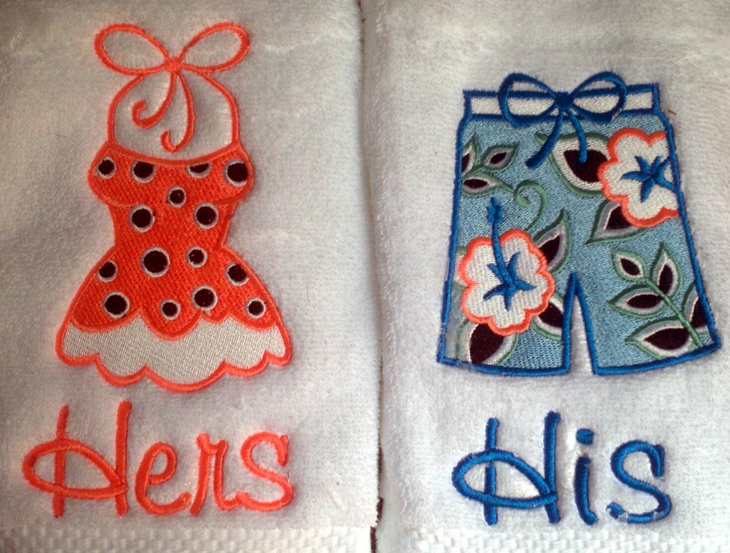Mr And Mrs Beach Towel Bride Monogram