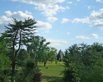 Castle On A Hill, Maymont Park in Richmond Virginia Landscape Photo Art, Frame Available