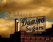 SALE Baltimore Architecture Domino print  -  on 5x7 Kodak Endura Lustre