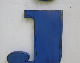 Lowercase wooden letters rustic nursery decor home decor