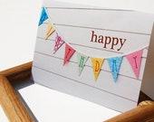 RESERVED FOR EMERY: Backyard Birthday Card