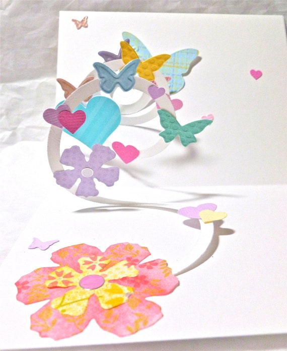 Handmade pop up birthday card for mom mother birthday card for Pop up birthday cards for mom