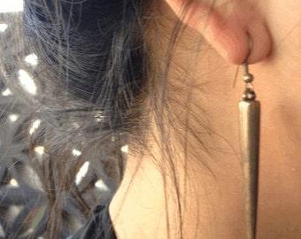 Short Spiked Earrings