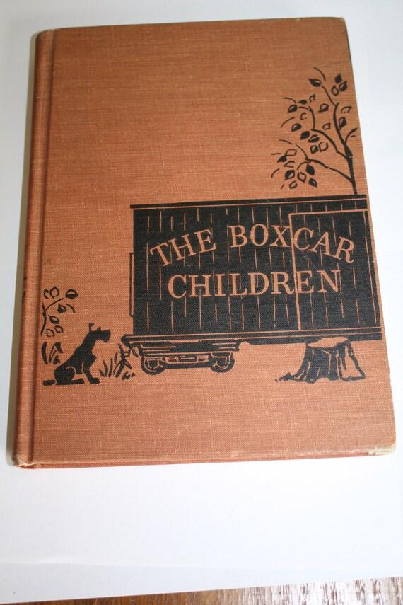 Vintage Boxcar Children Book 1950 Gertrude Warner By Patwatty
