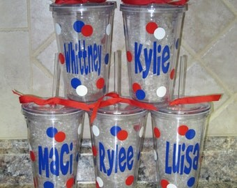 5 Personalized Tumblers