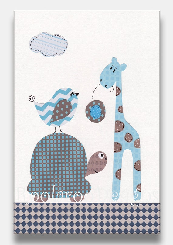 Baby Boy Wall Decor giraffe wall decor for nursery ~ color the walls of your house