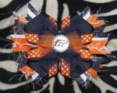 Denver Broncos Boutique Bow