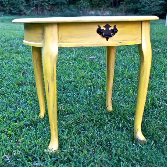 Shabby Chic Painted End Tables Side Table /shabby Chic