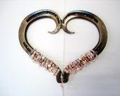 horseshoe art heart