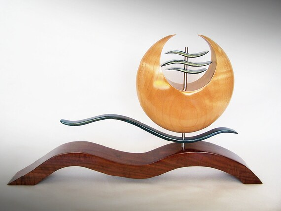 Oriental Style -  Wood Sculpture - Art by TheArtistTerand