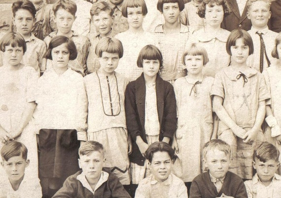 Vintage 1920s School Picture