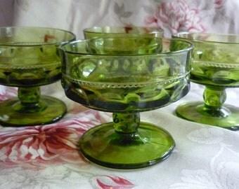 Green King's Crown Shebet Goblets