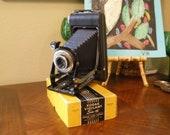 1939 Eastman Kodak Vigilant Six-16 Camera with box and extras