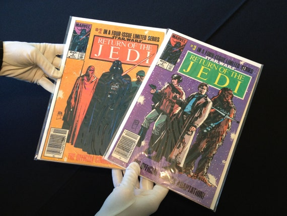 Star Wars Return of the Jedi Marvel Comics