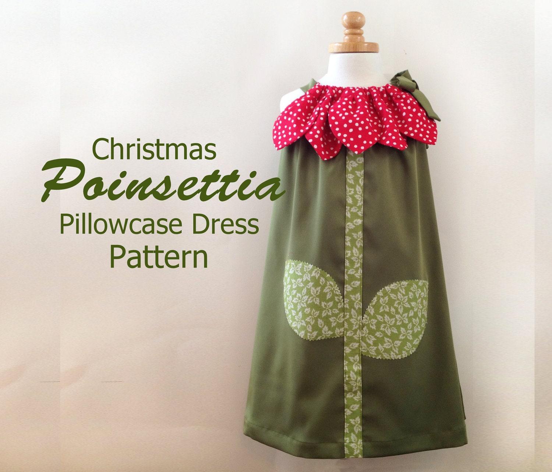 Sunny flower pillowcase dress girl christmas by rubyjeanscloset