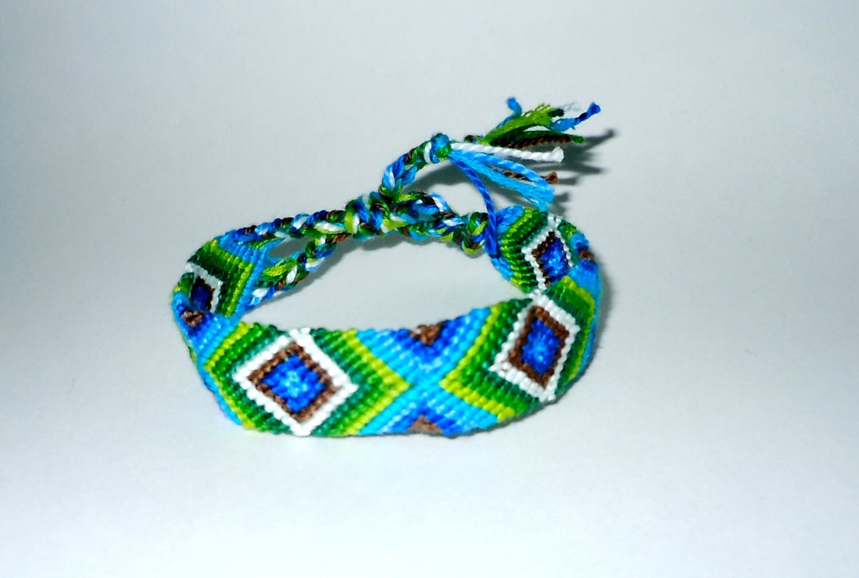 friendship bracelet diamond ocean summer. Black Bedroom Furniture Sets. Home Design Ideas