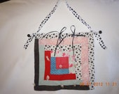 Hanging Quilt Piece from Antique Quilt