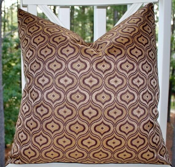 Decorative Designer Purple Pillow Cover - Geometric Plum Purple Pillow - Moroccan Pillow - Throw Pillow