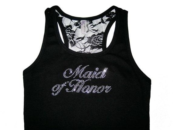 Maid of Honor Tank, Maid of Honor Shirt, Matron of Honor Shirt, Matron of Honor Tank, Maid of Honor Gift, Matron of Honor Gift, Bridesmaids