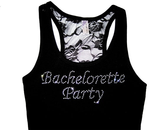 Bachelorette Party Tank Top Shirt. Maid of Honor. Bride Tank Top Shirt. Bridesmaid Tank Top Shirt. Wedding Clothes. Lace Tank Top.