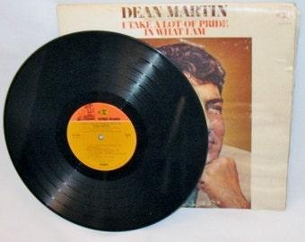 Dean Martin 1969 Vinyl Album and Jacket