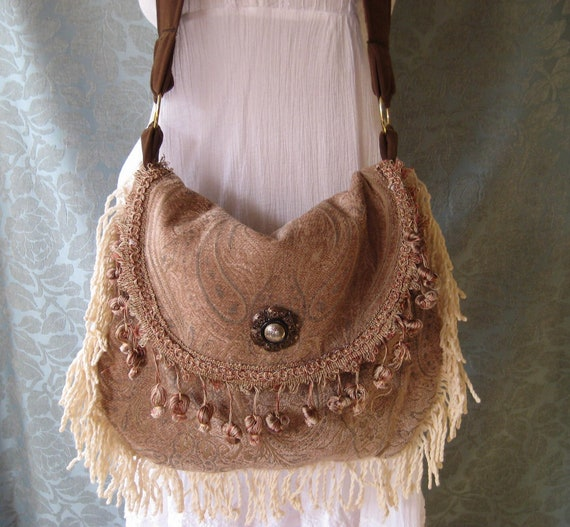 Gypsy Bags and Purses, Crossbody Bohemian Hippie Boho Bag, Carpetbag