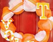 Tennessee Vols Wreath