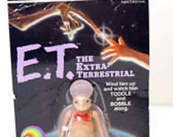 E.T  toy/figurines 1982 UNOPENED